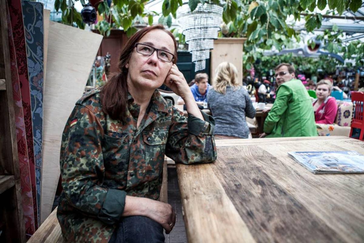 Kasvihuoneilmiön omistaja Elisa Palola