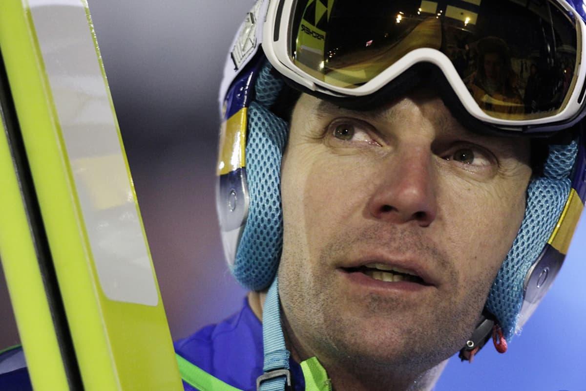 Janne Ahoseen on luotettu suomalaisessa mäkihypyssä jo vuosia.