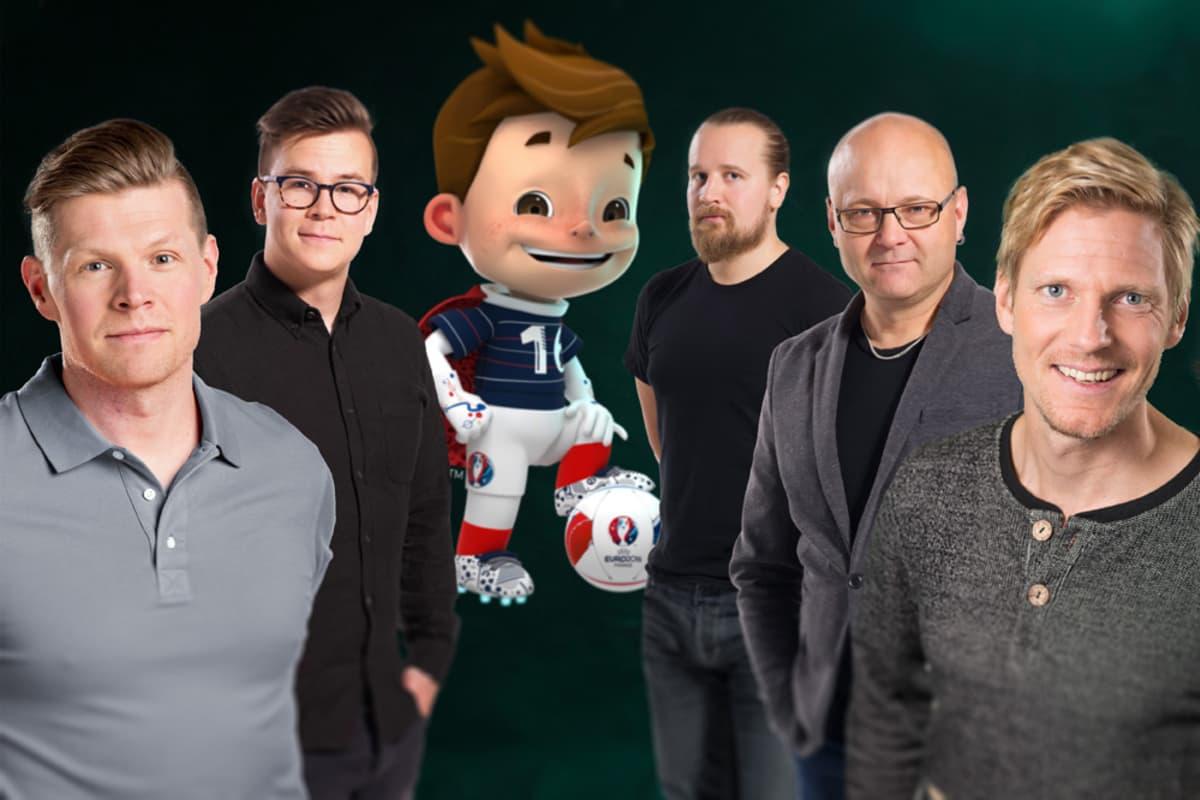 Antti-Jussi Sipilä, Riku Salminen, Matti Härkönen, Tapio Suominen ja Tero Karhu.