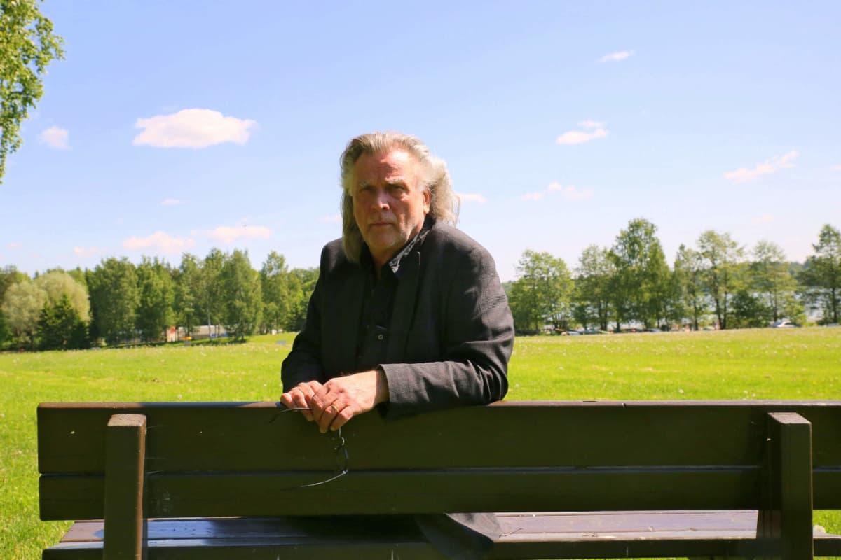 Pepe Ahlqvist esiintyi jo ensimmäisessä Puistobluesissa, kesällä 1978.