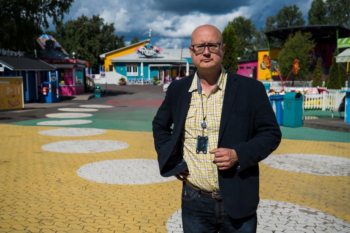 Miikka Seppälä, Särkänniemen toimitusjohtaja.
