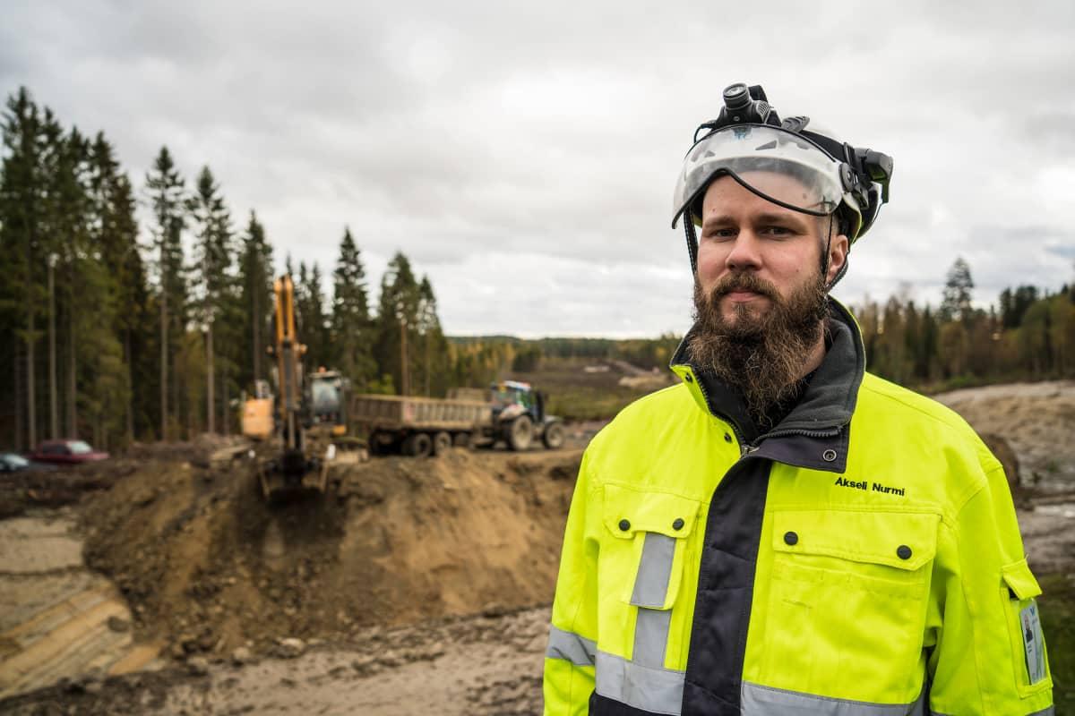 Akseli Nurmi, projektipäällikkö, väylävirasto