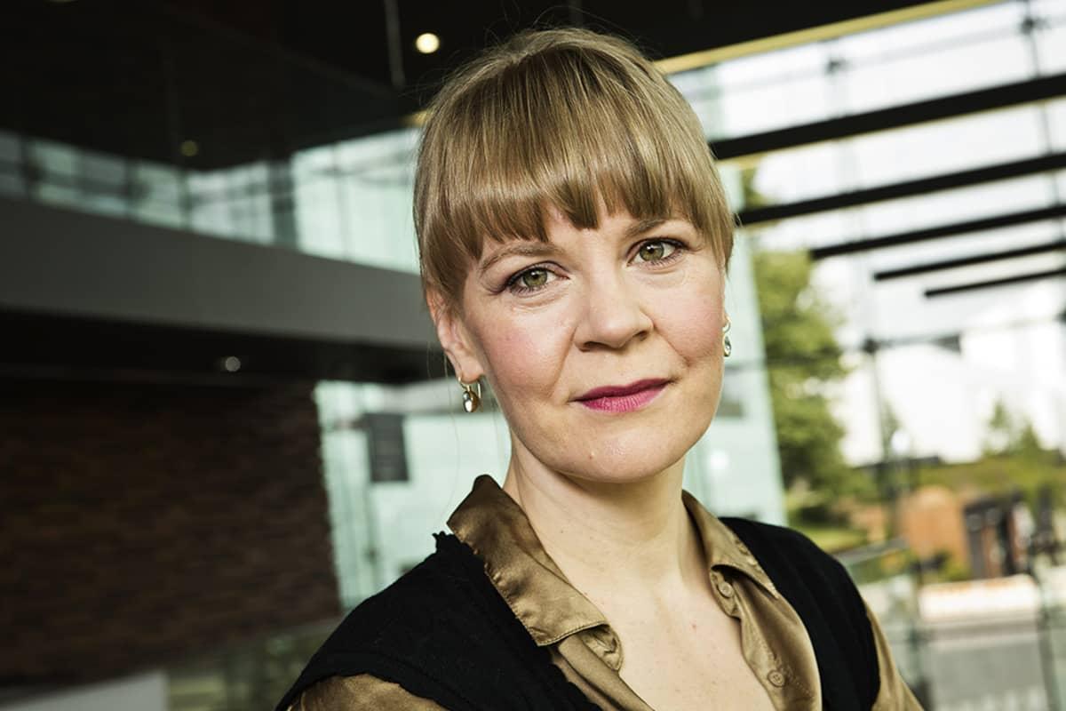 Helsingin kaupunginorkesterin ylikapellimestariksi valittu Susanna Mälkki 2. syyskuuta.