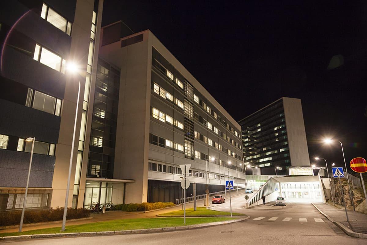 Meilahden sairaala.