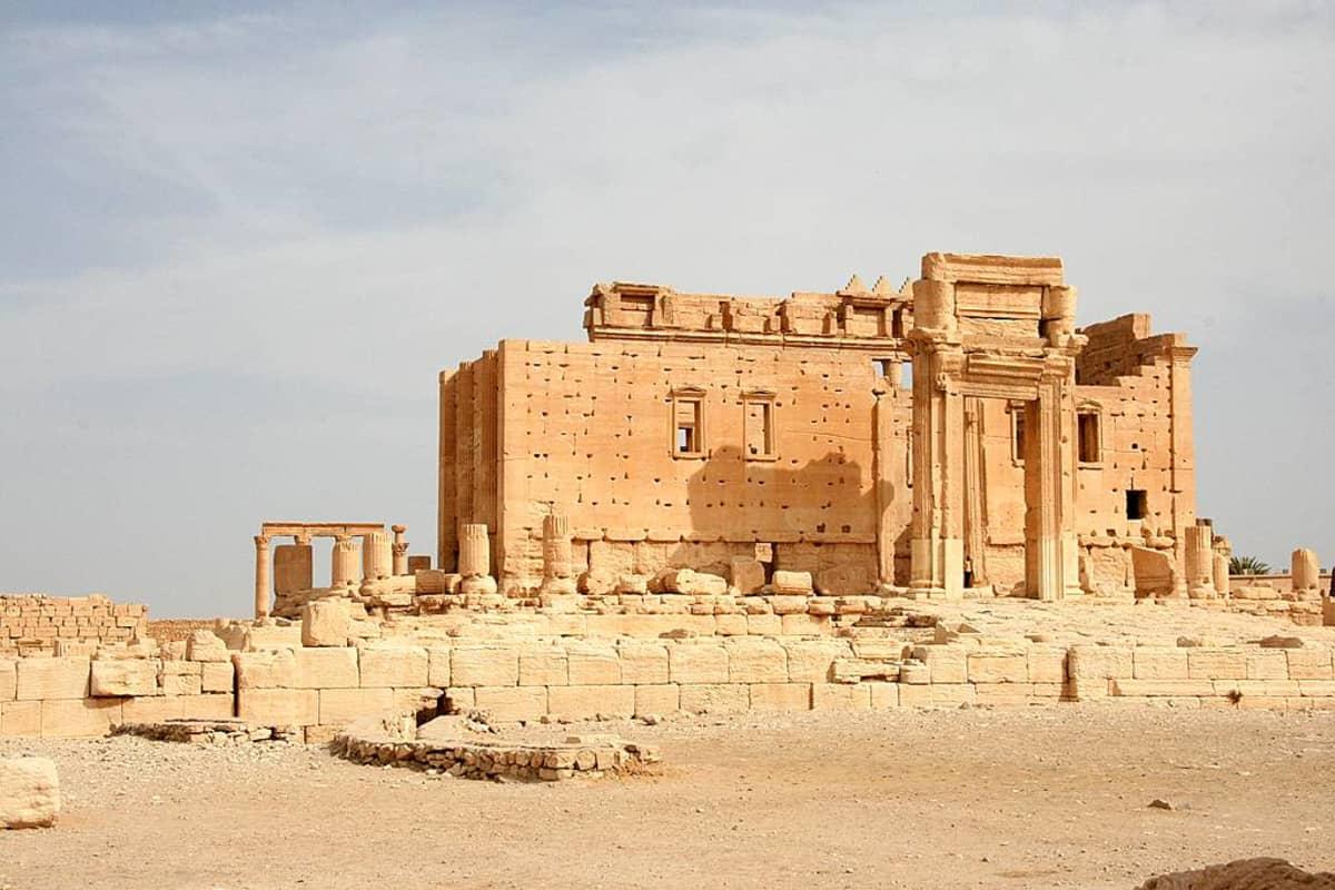 Baalin temppeli Palmyrassa, Syyriassa.