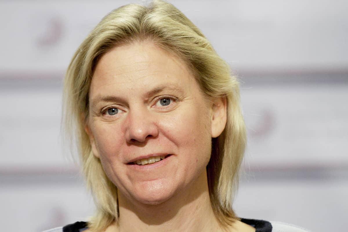 Ruotsin valtiovarainministeri Magdalena Andersson.