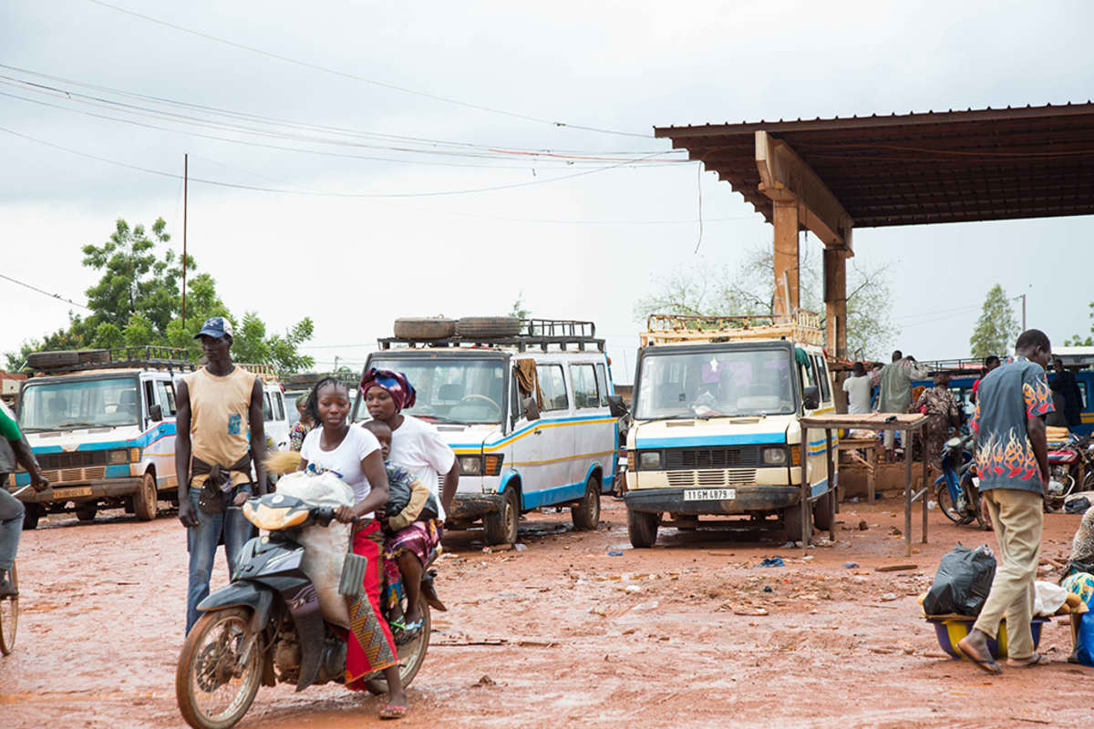 Ouagadougoun bussiasema