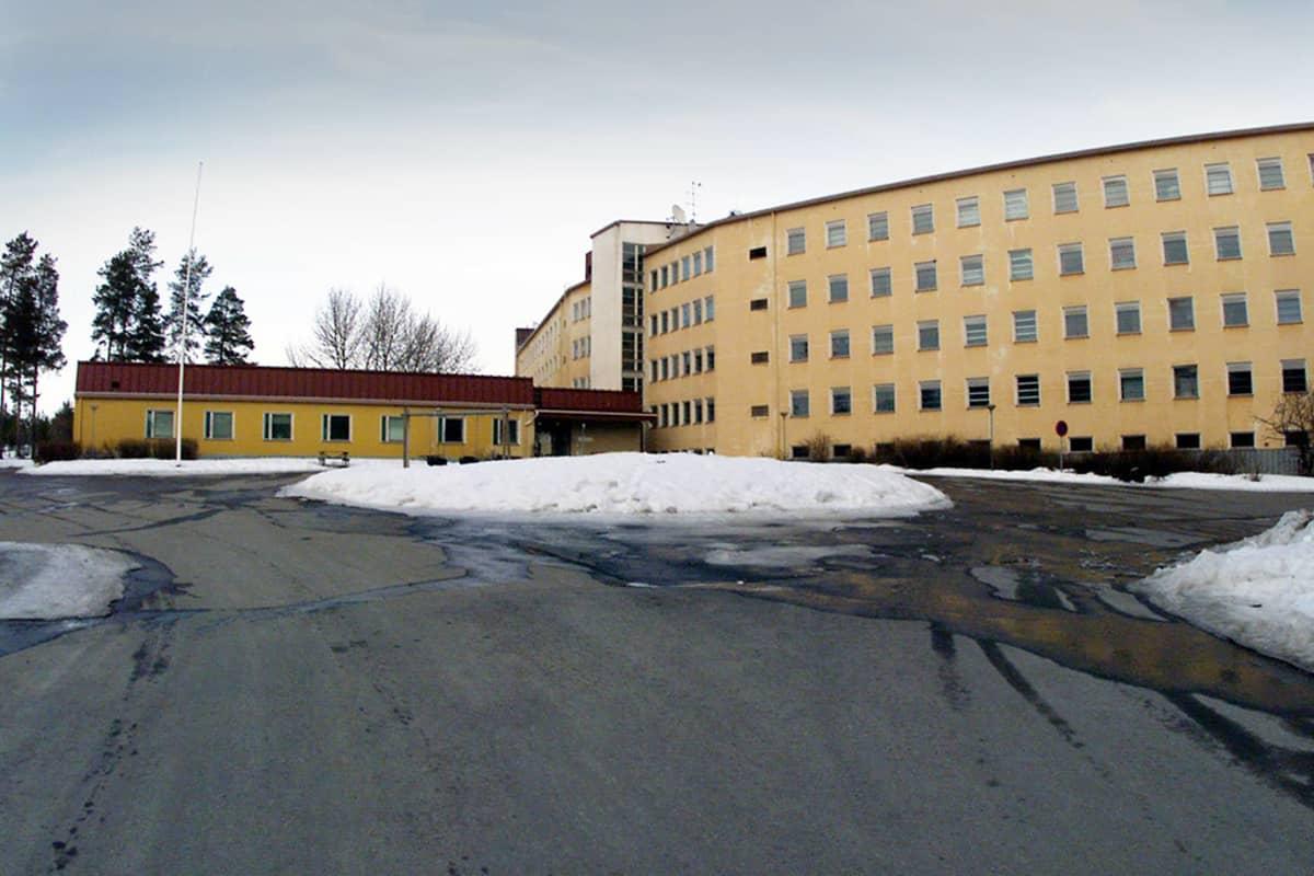 Vastaanottokeskus Heikinharju Oulussa.
