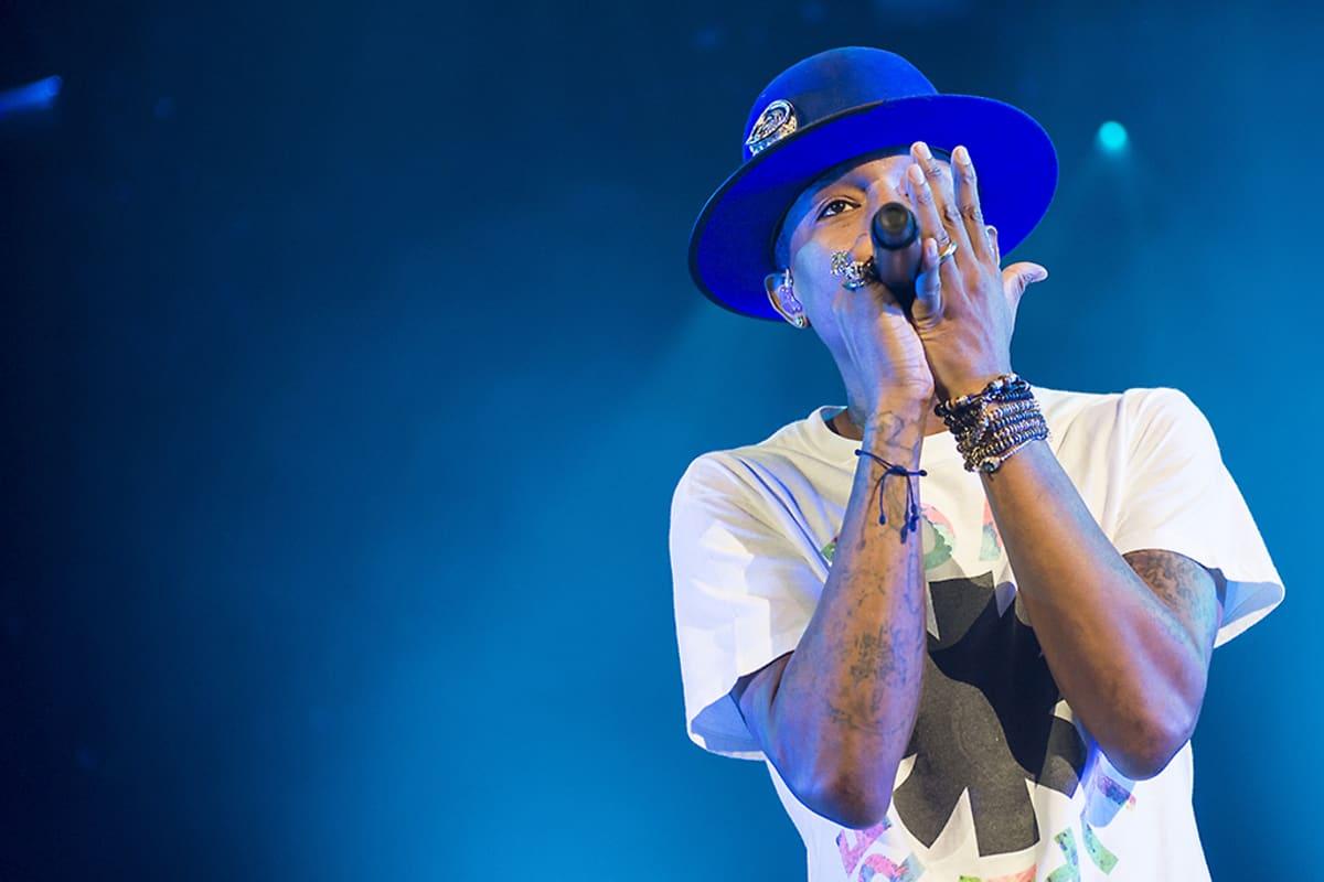 Pharrell Williams lavalla.