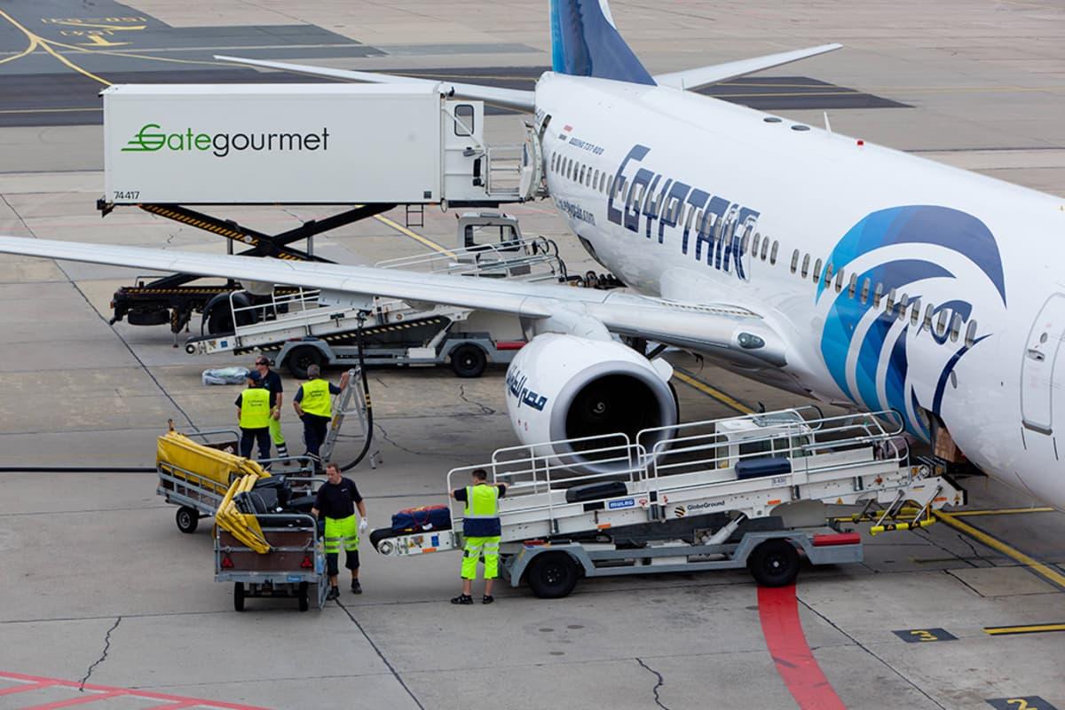 EgyptAirin Boeing 737