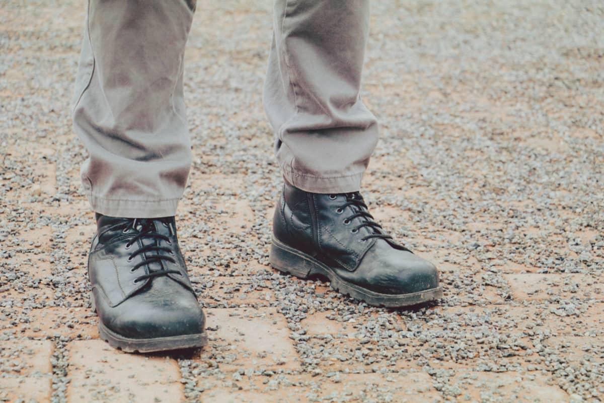 Ville Salmisen kengät