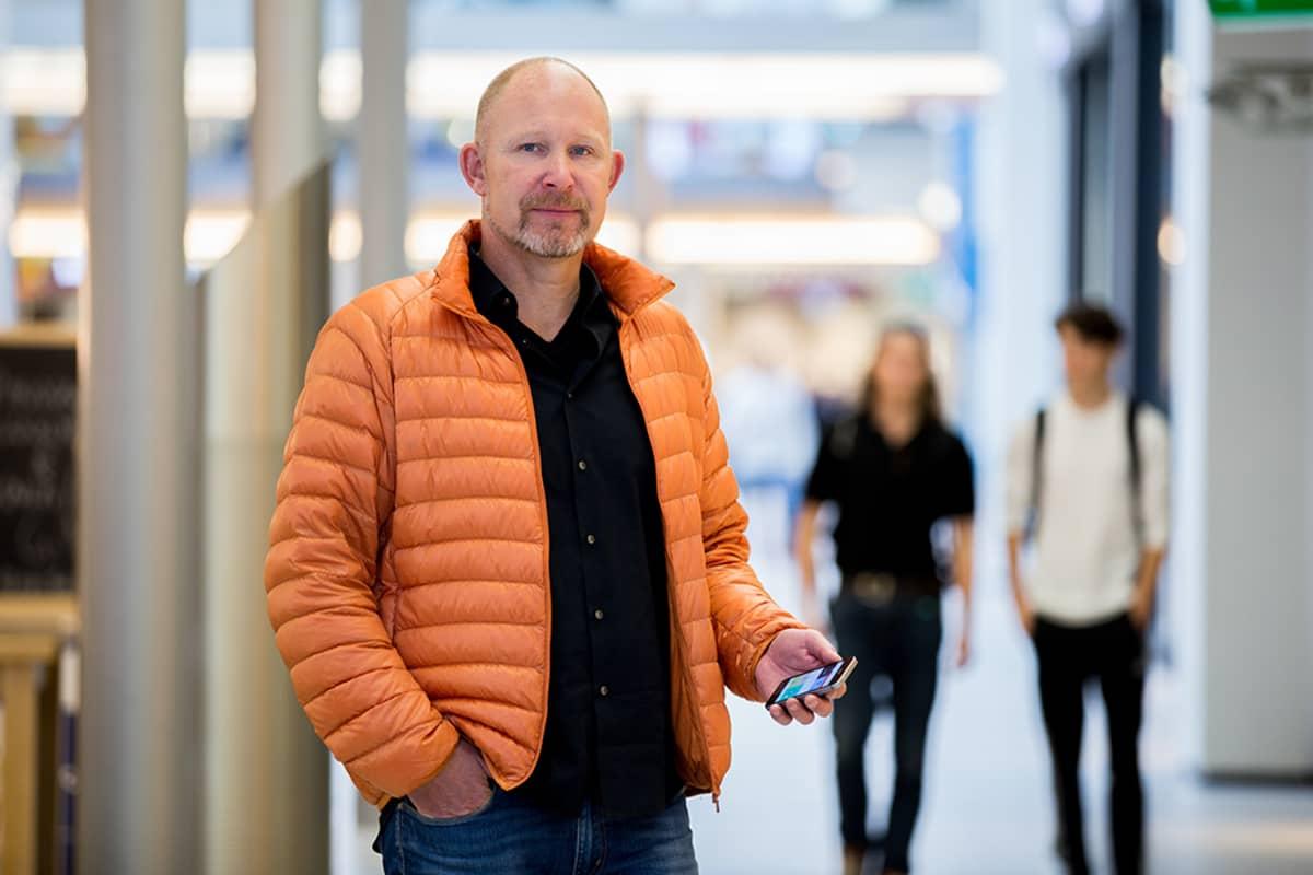 Wrappin tomitusjohtaja Aage Reerslev.