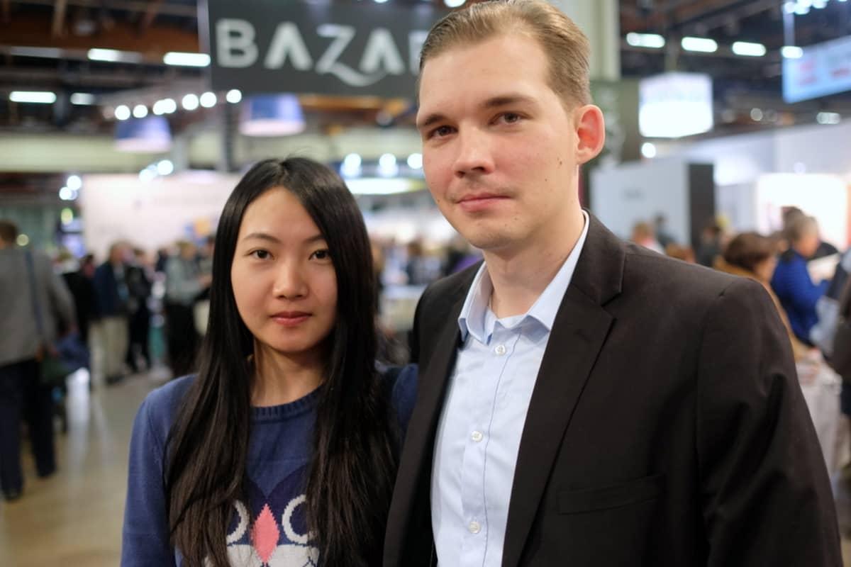 Esa ja Kiinan Chonqingistä kotisin oleva Dan Holappa menivät naimisiin joulukuussa.