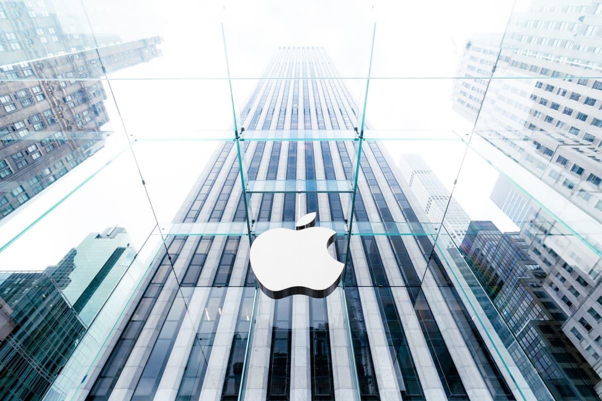 Applen kauppa New Yorkin Fifth Avenuella