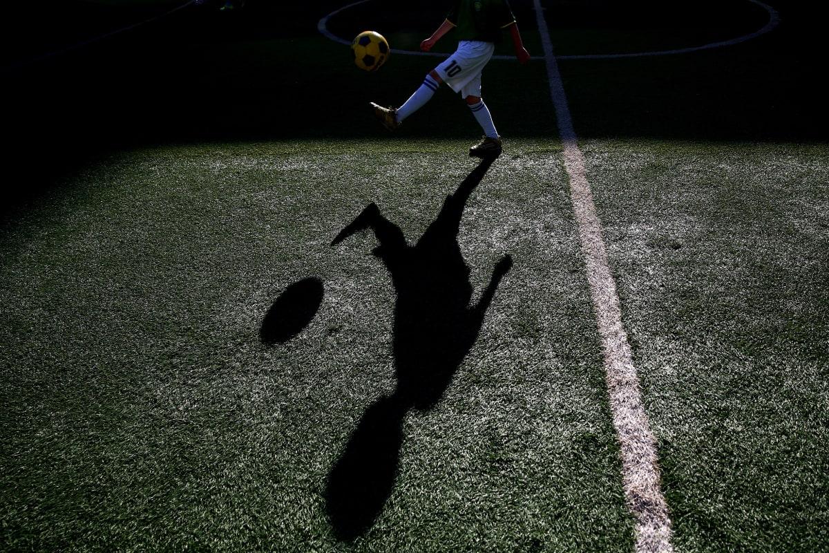 Lapsi ja jalkapallo