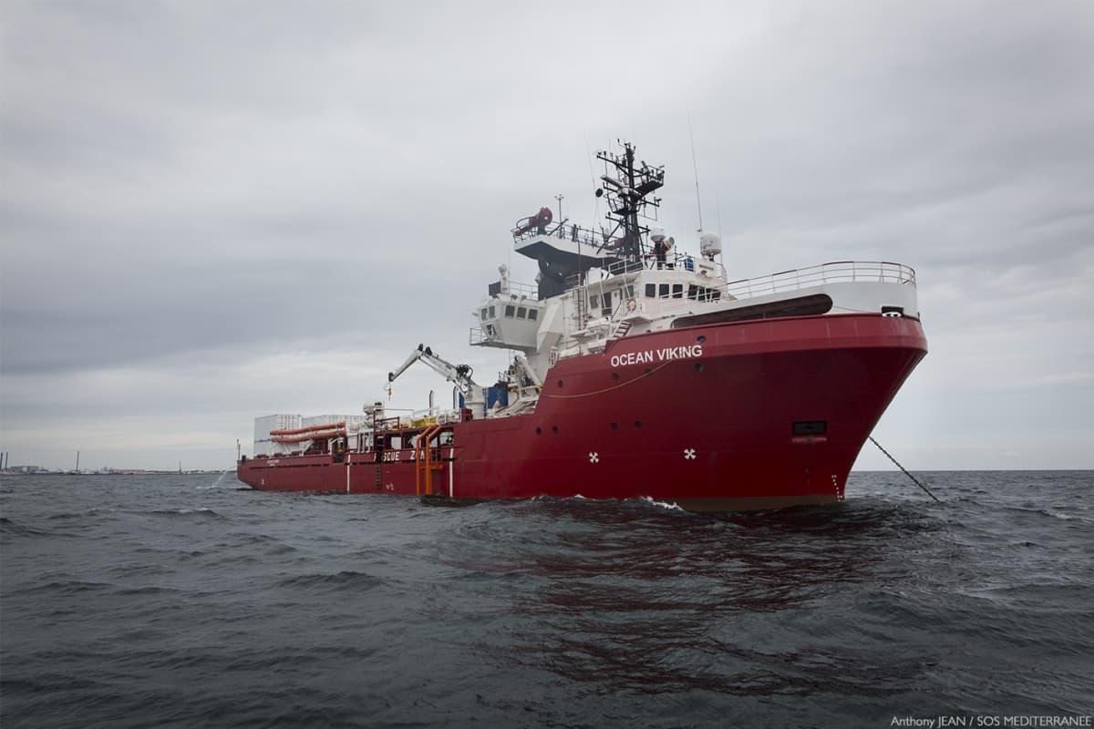 Ocean Viking -alus.