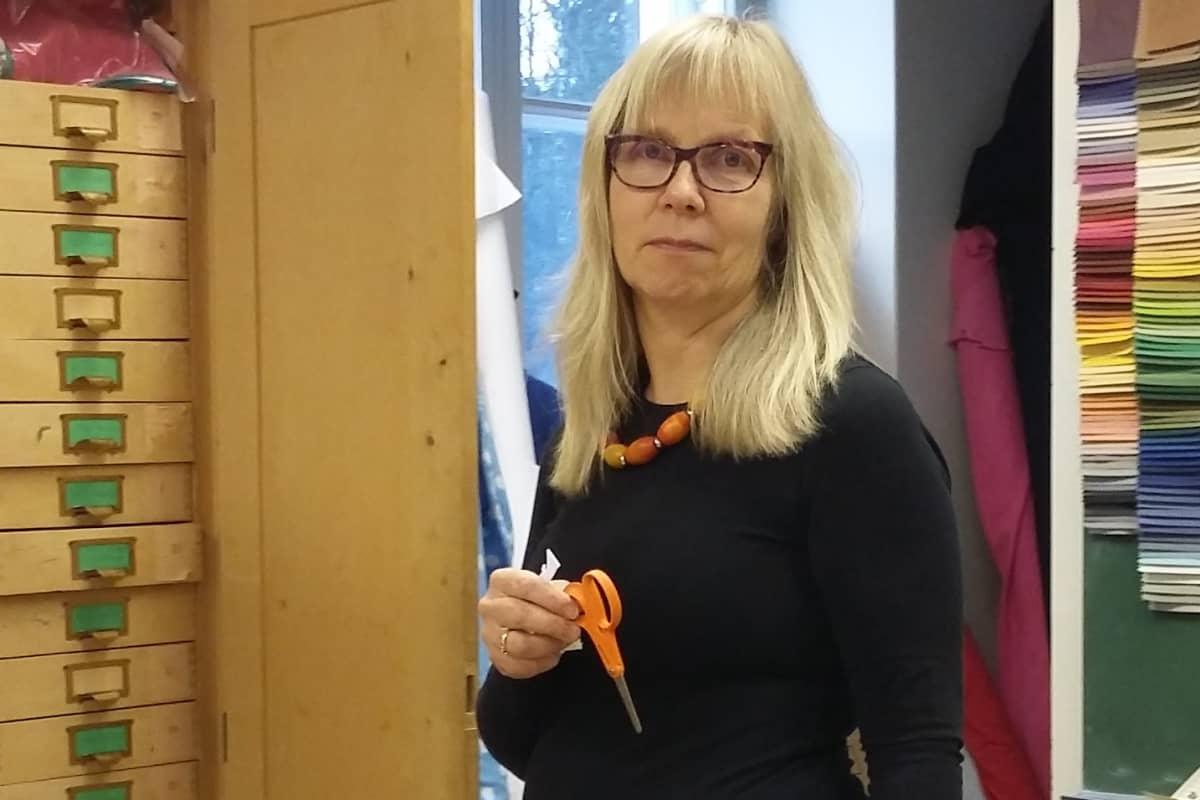 Käsityönopettaja Anne Lintula