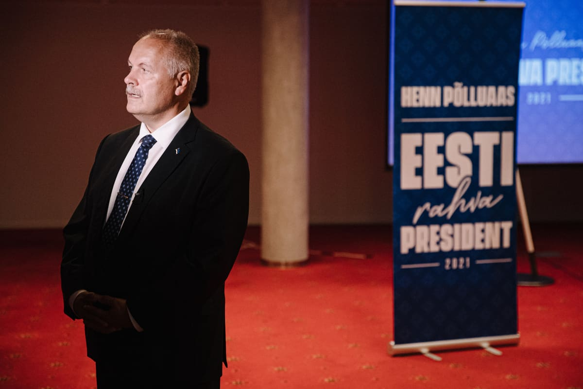 Viron parlamentin varapuhemies Henn Põlluaas