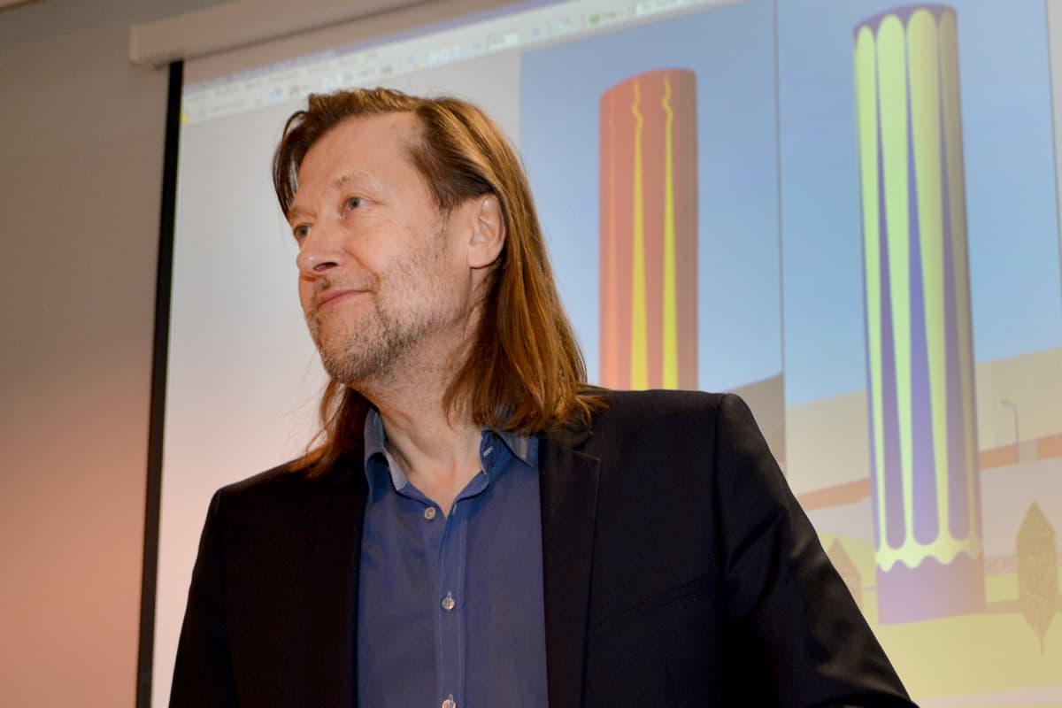 Kuvataiteilija Jan-Erik Andersson