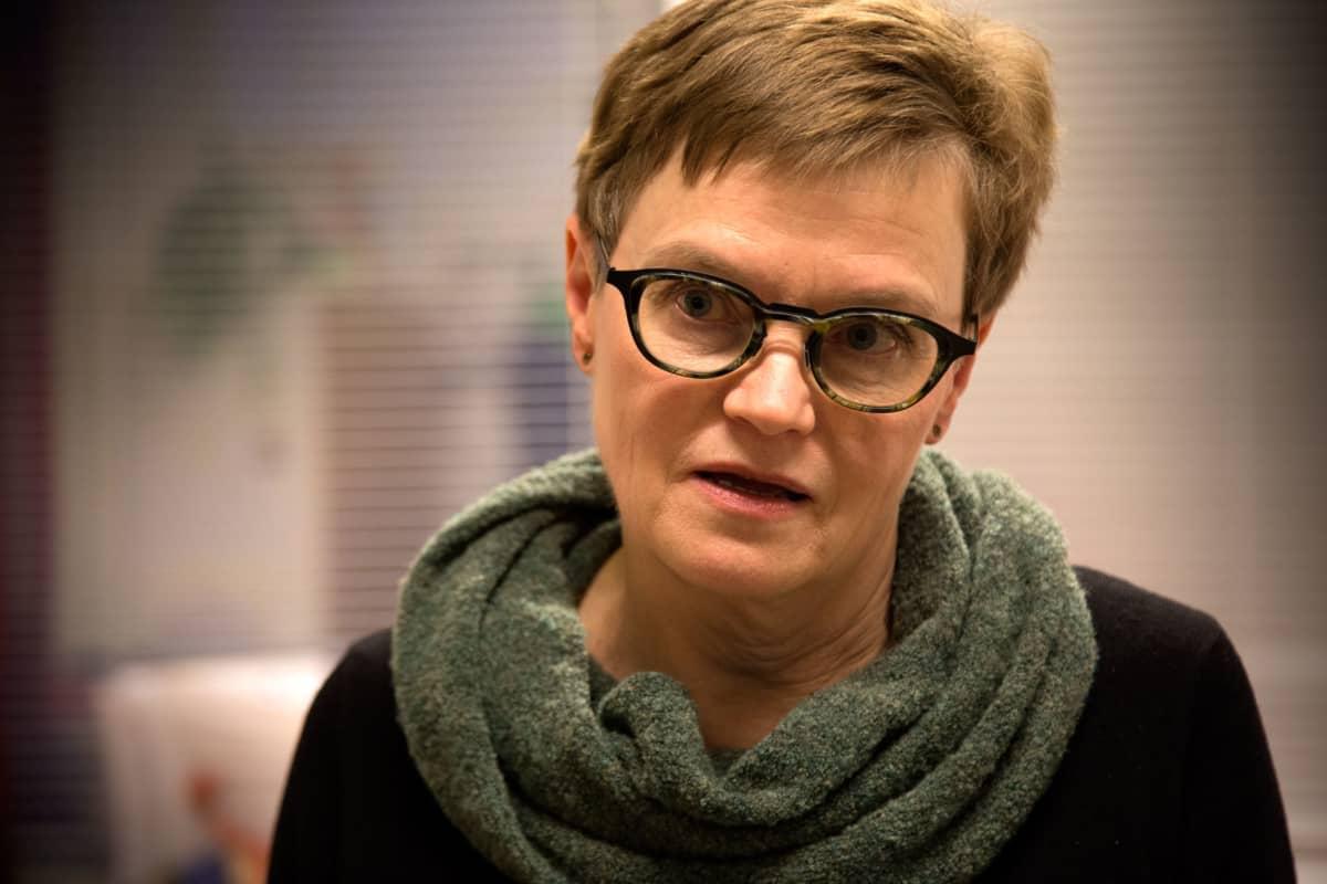 Lasten terapiapalvelun ylilääkäri Anitta Rauvala, Espoo