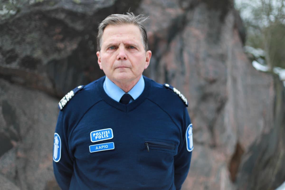 Poliisikomentaja Lasse Aapio