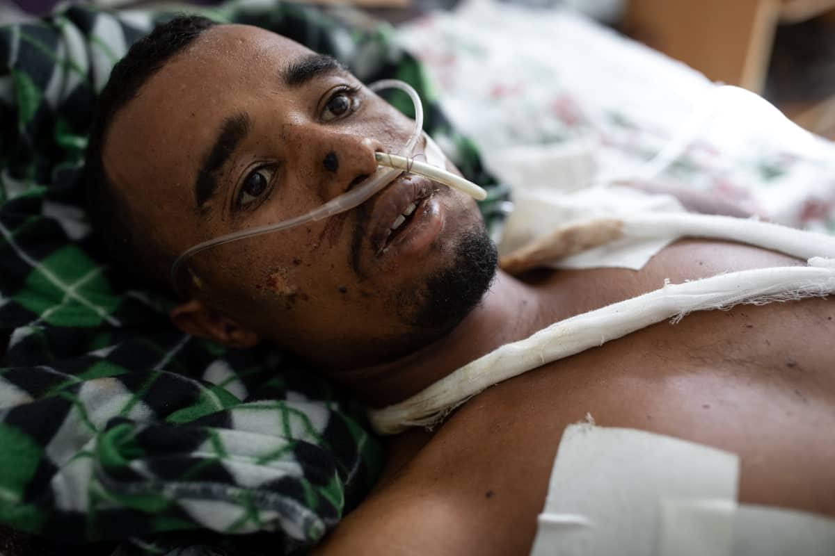 Etiopialaiset ampuivat hänet teloitustyylissä suoraan suuhun.