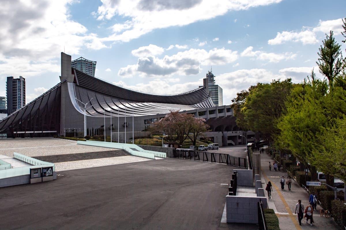 Yoyogin stadion toimii Tokion vuoden 2021 olympialaisten käsipalloareenana.