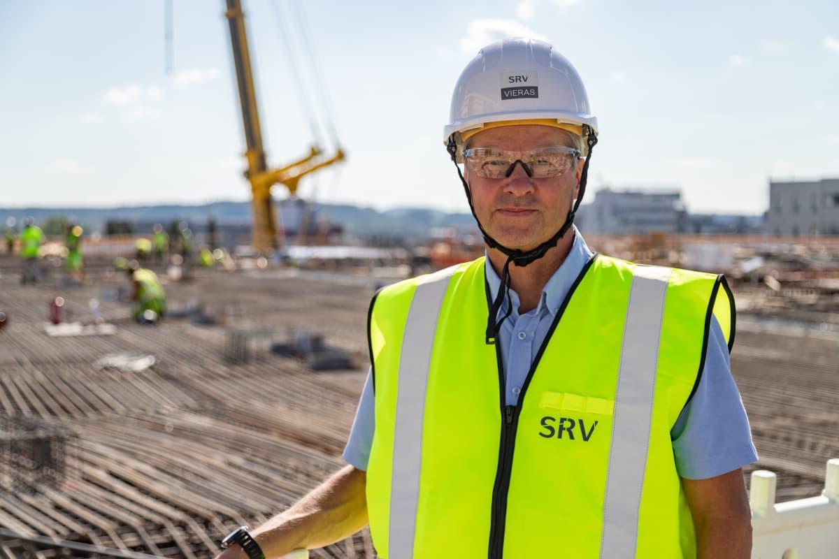 SRV hankejohtaja Henrik Eklund