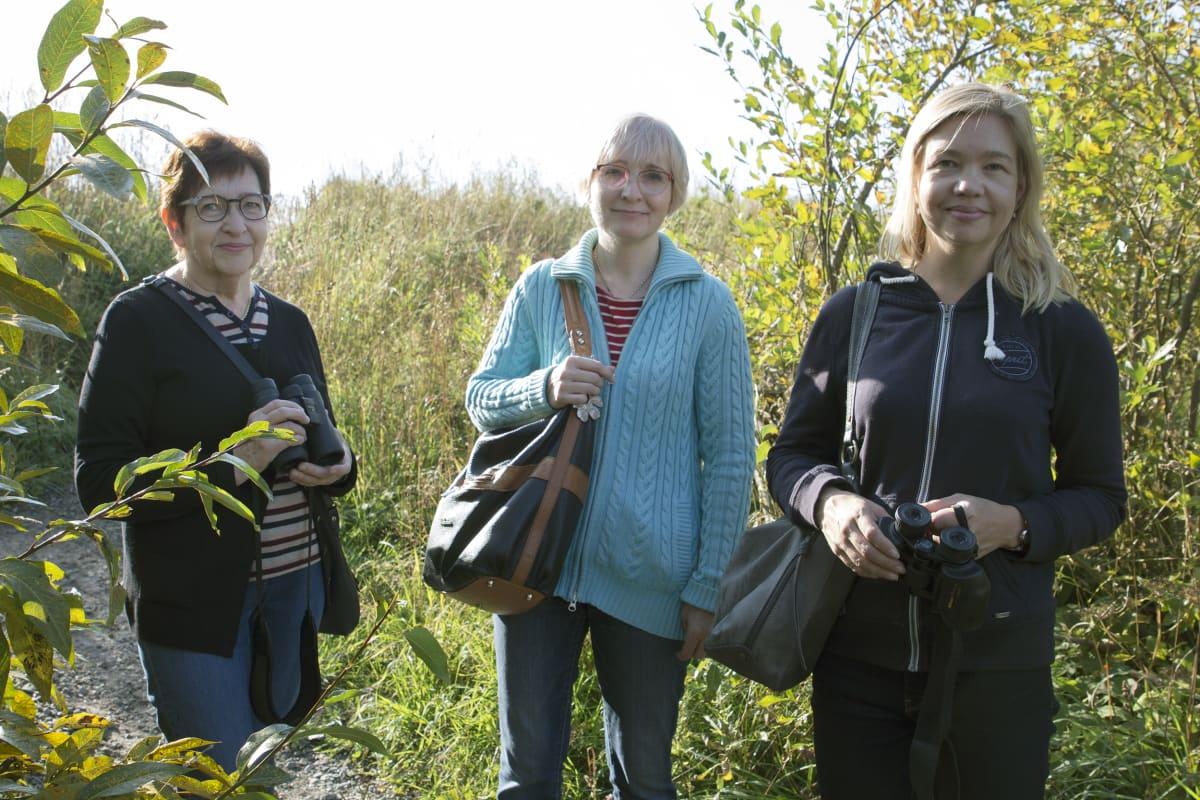 Eira Korhonen, Mia Korhonen ja Birgit Nieminen