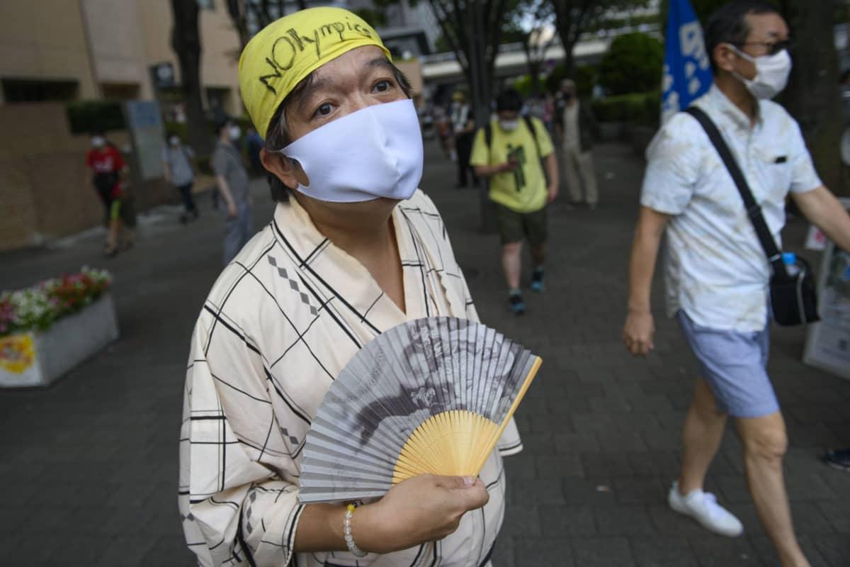 Masa Yamagatan mielestä olympialaiset vaarantavat kansan terveyden.