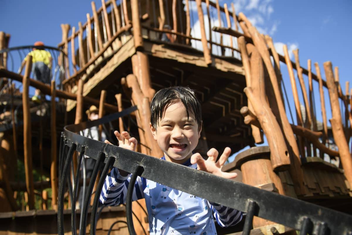 Viisivuotias Seiji Kajino sanoo, että Muumipeikko on paras, koska se on söpö.