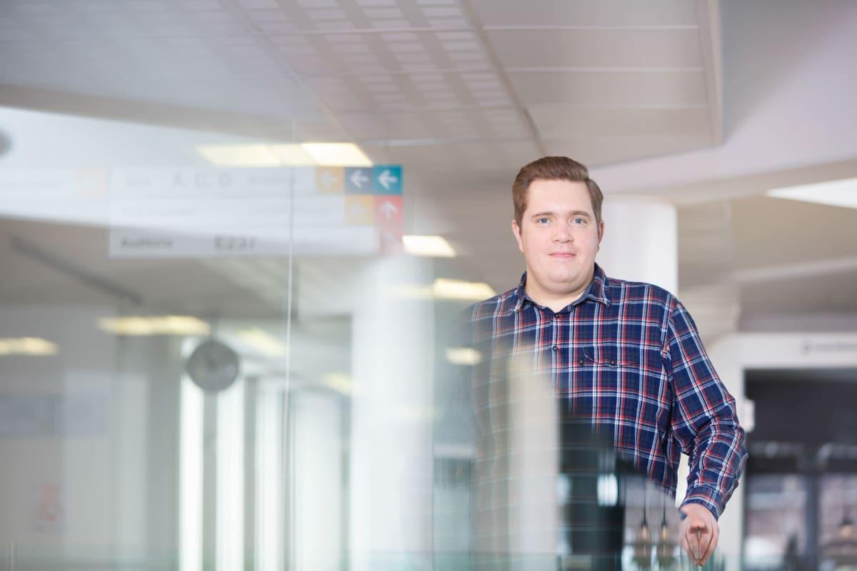 Karelia-ammattikorkeakoulun projektiasiantuntija Risto Salminen Joensuusta.