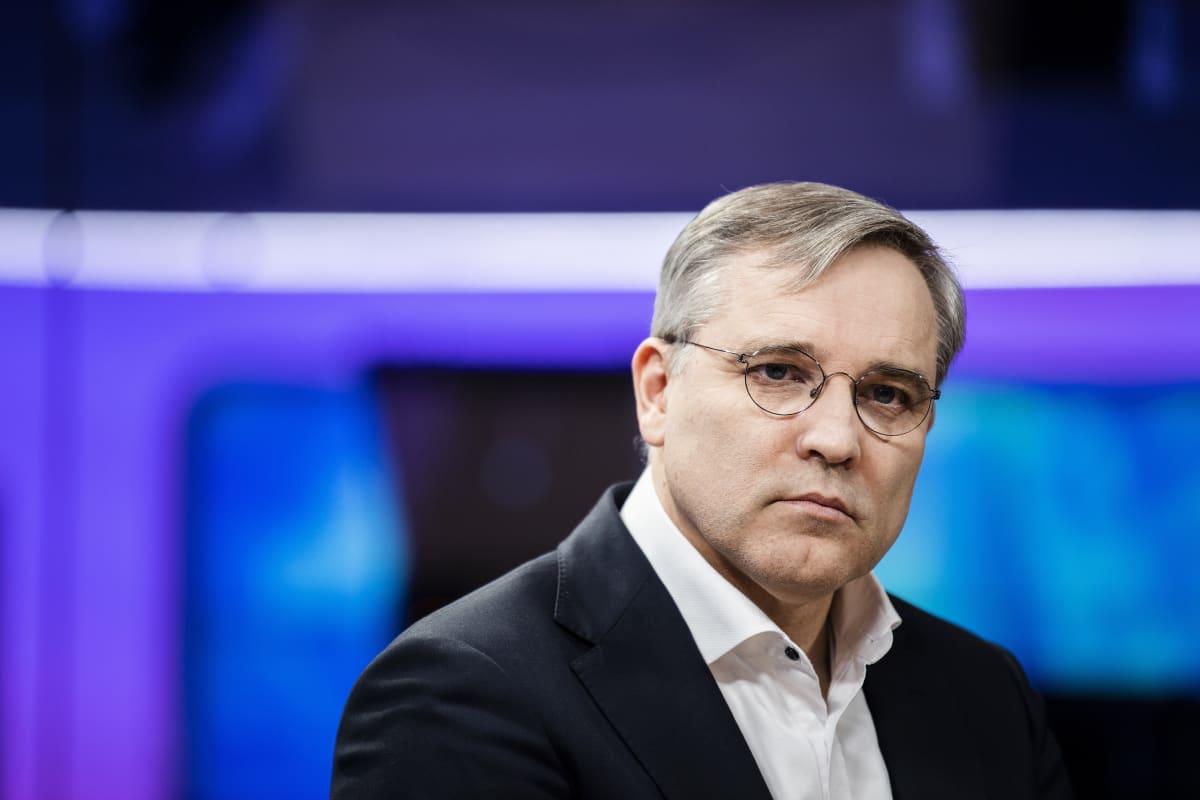 Kuvassa on Suomen yrittäjien toimitusjohtaja Mikael Pentikäinen.