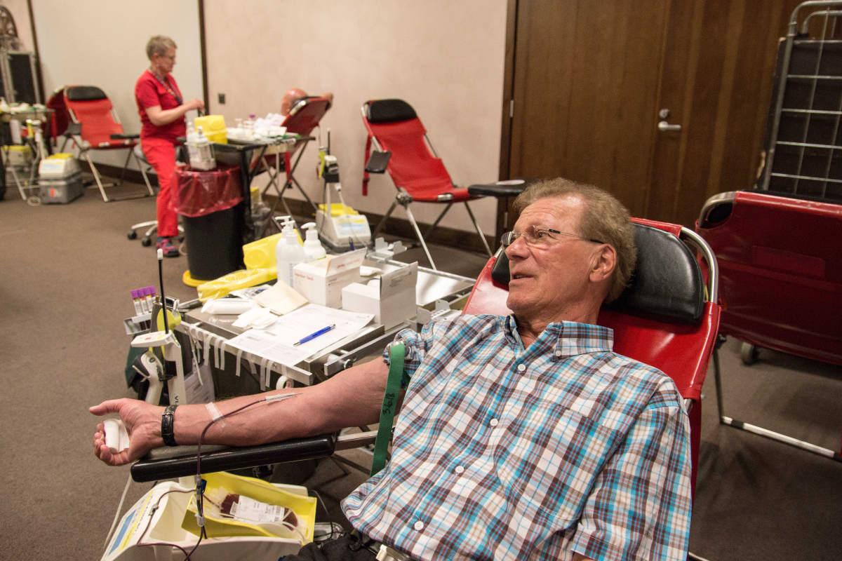 Raimo Ekonojan 219. verenluovutuskerta jäi viimeiseksi, sillä ikä tulee vastaan.