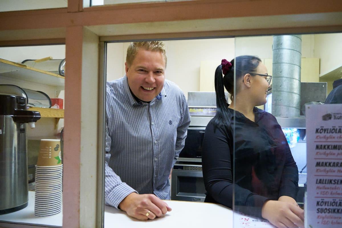Tomi Virénillä oli kovat odotukset ensimmäistä iltaa kohtaan.