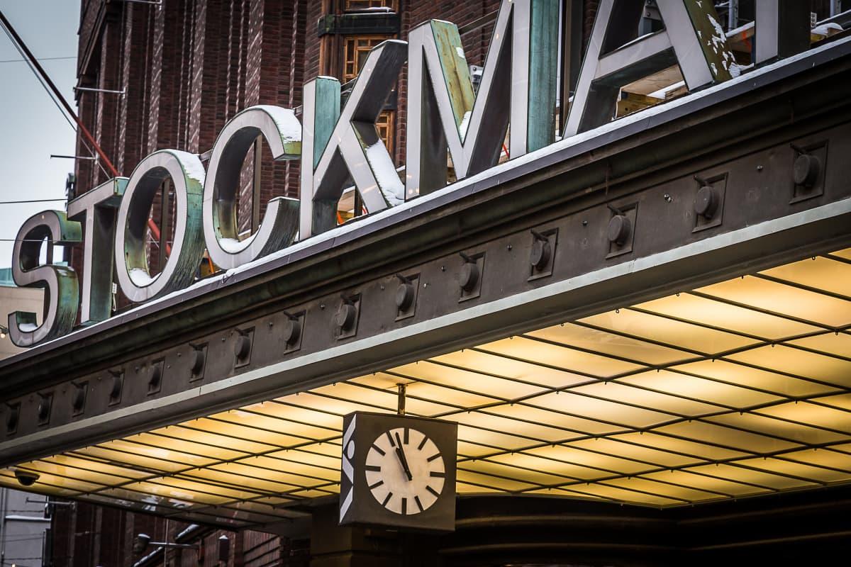 Stockmannin tavaraatalo.