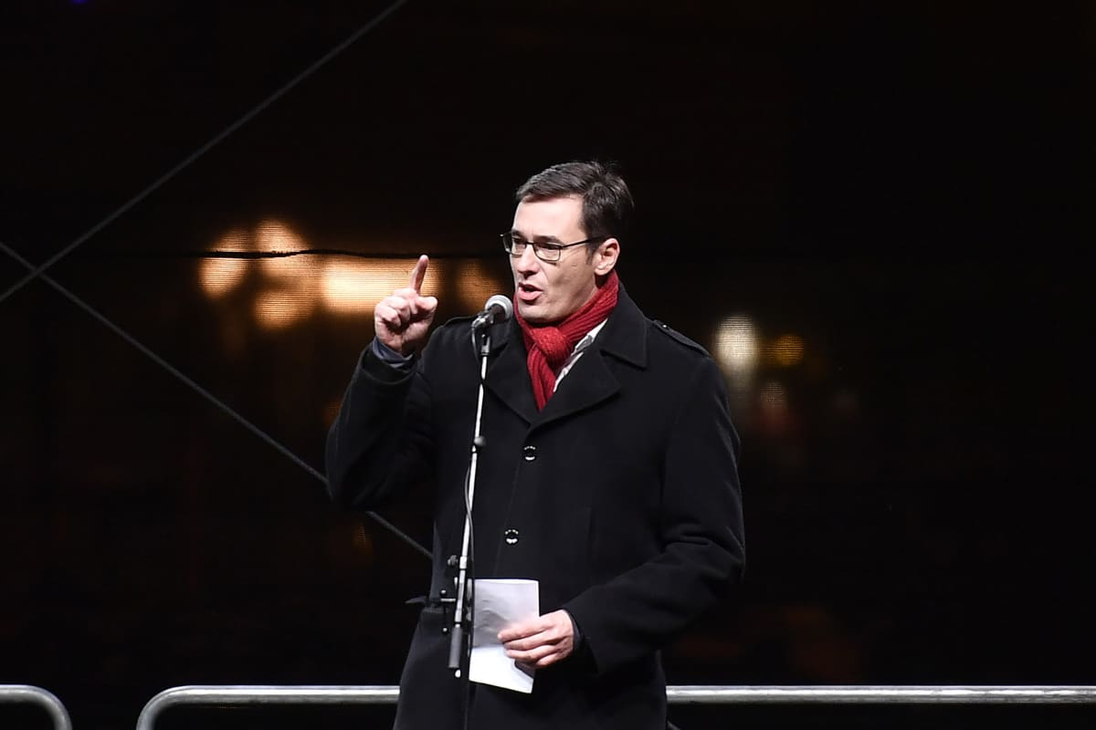 Budapestin pormestari Gergely Karácsony.