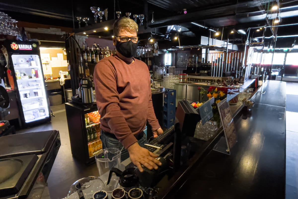 ravintolayrittäjä Jani Isotalo Bar Q, Imatra