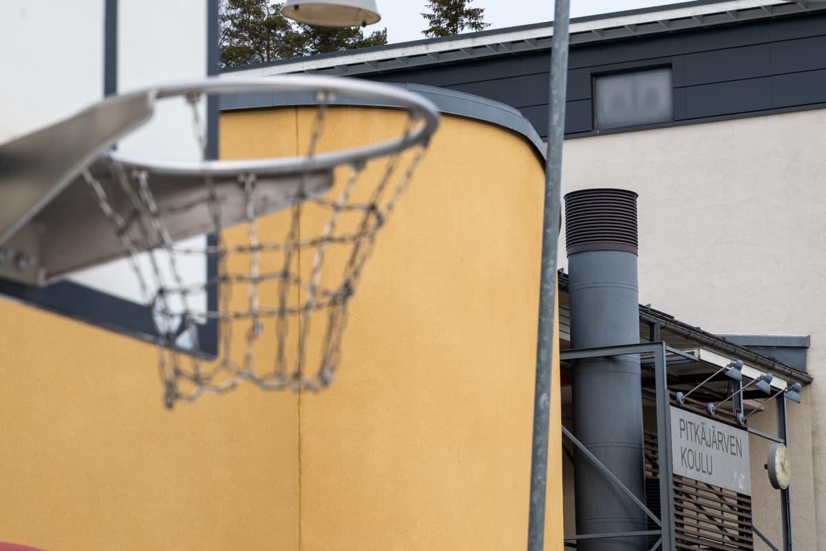 Pitkäjärven koulu Kangasalla.