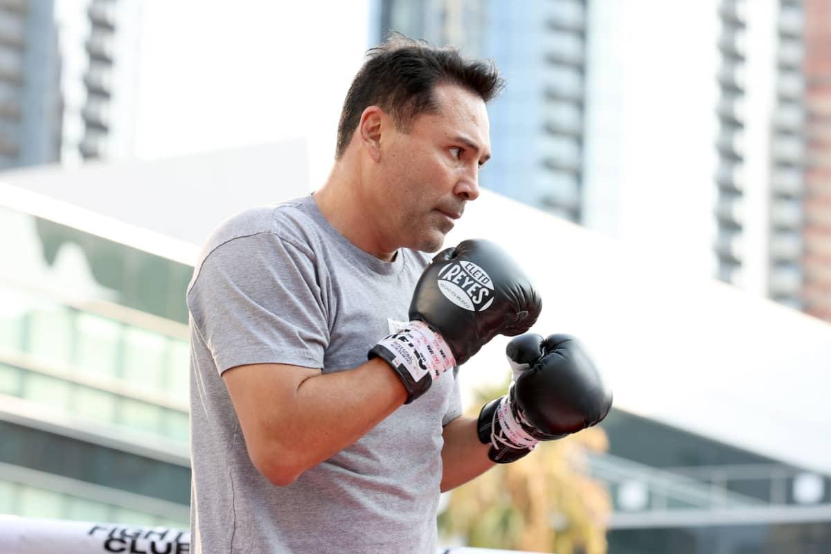 Oscar De La Hoya kuvassa