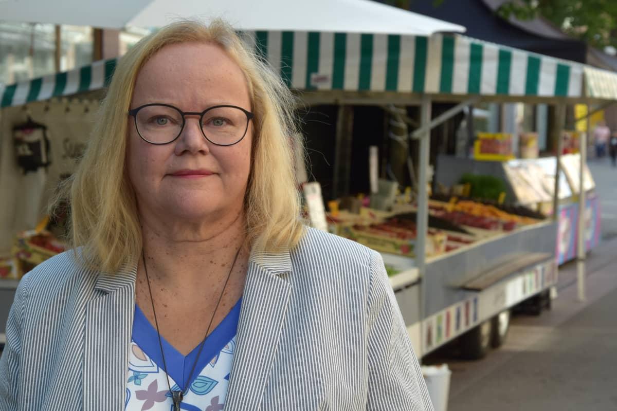 SAK:n Turun toimiston alue- ja järjestöasiantuntija Kristiina Linna