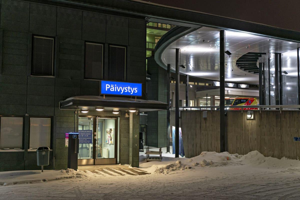 Lapin keskussairaala Rovaniemellä 29. tammikuuta 2020.