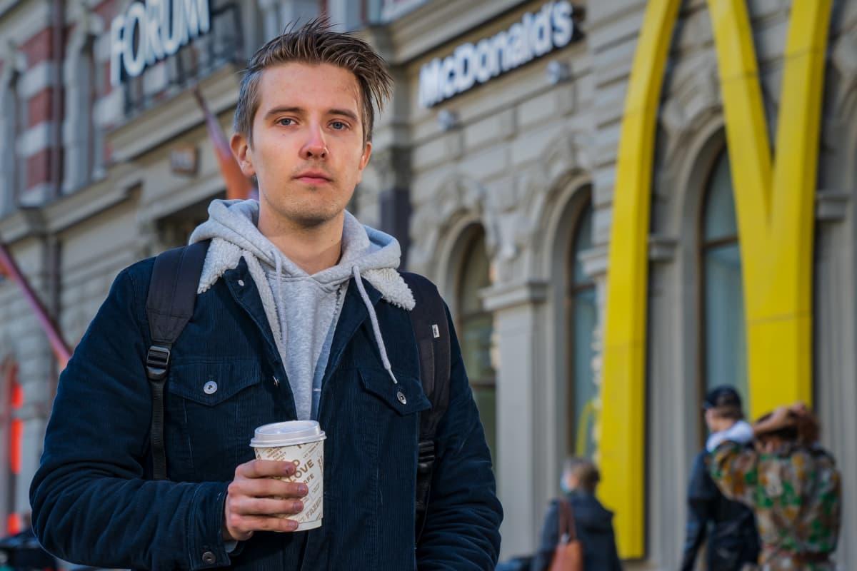 Henkilökuvassa, Aku Kosonen, opiskelija.