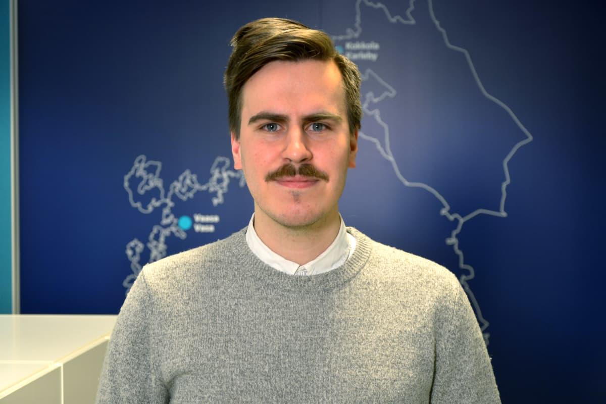 Matias Mäkynen (SDP).