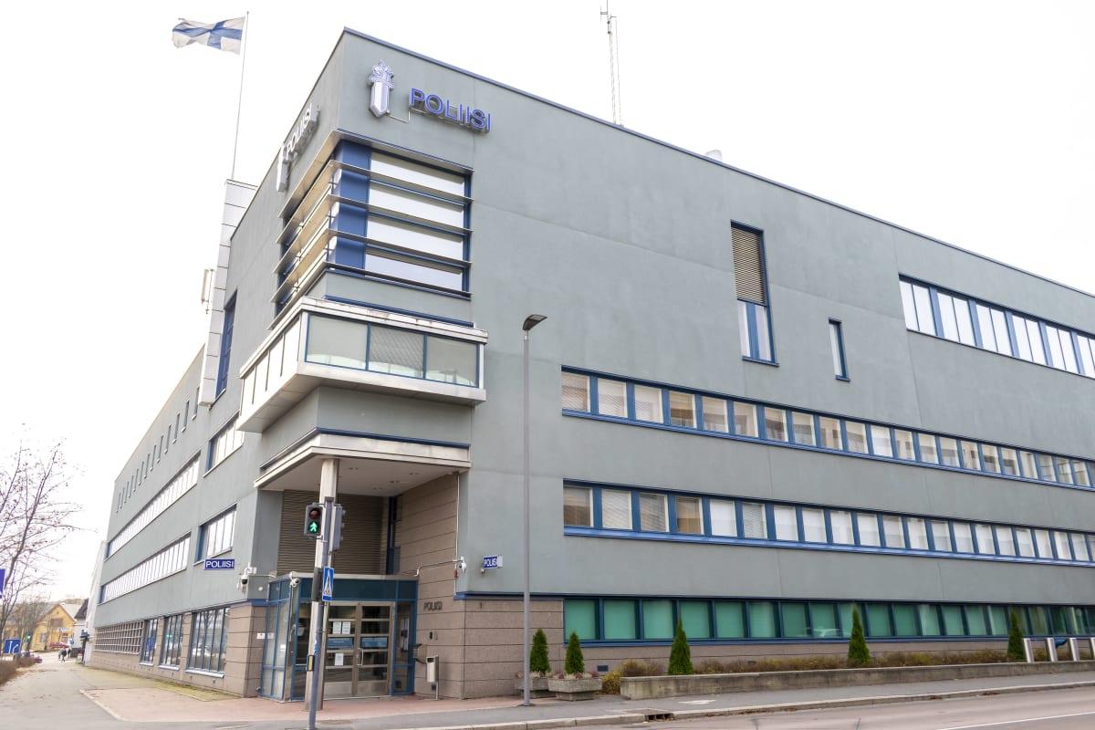 Jyväskylän poliisitalo ulkoa.