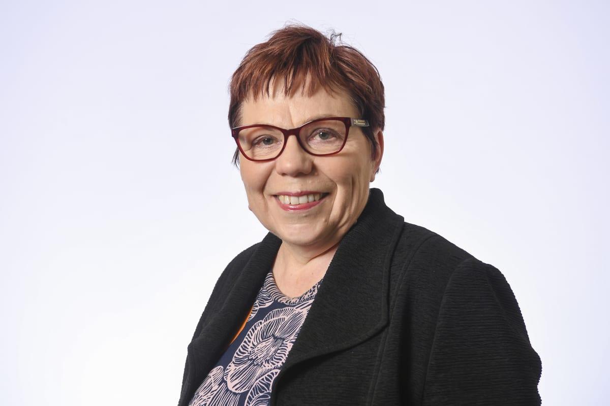 Kansanedustaja Merja Mäkisalo-Ropponen, SDP.