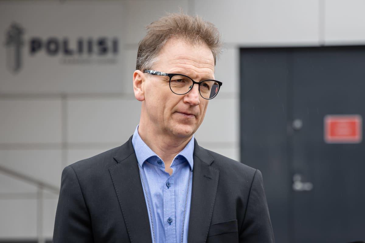Rikosylikomisario Juha Junkkari