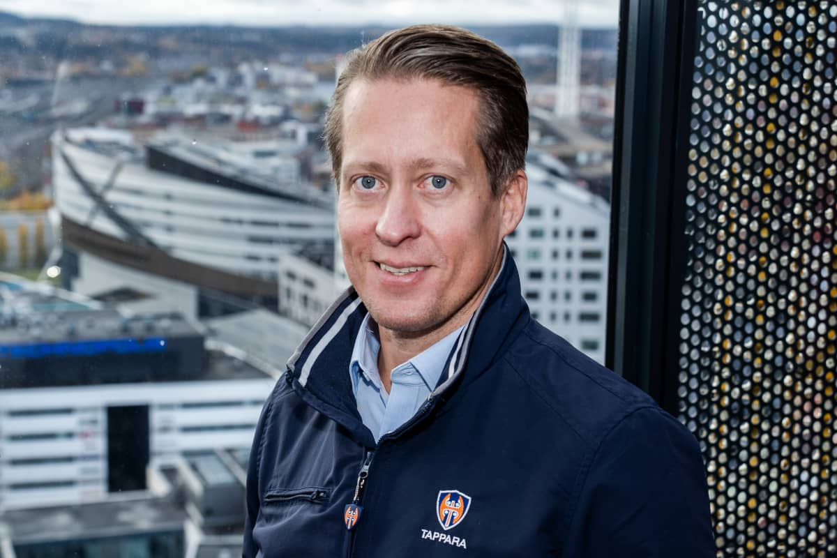 Tapparan myynti- ja markkinointijohtaja Aki Holma.