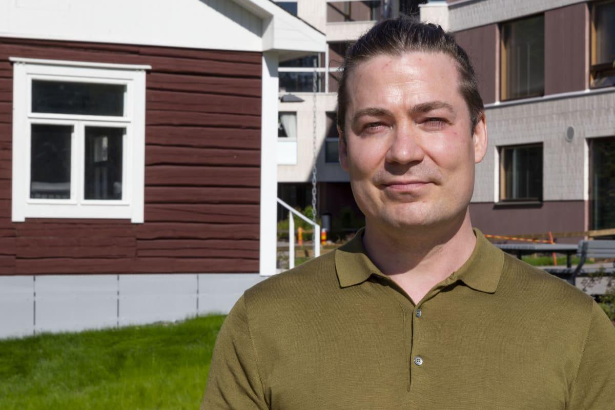 VTT:n ryhmänjohtaja Miika Rämä.