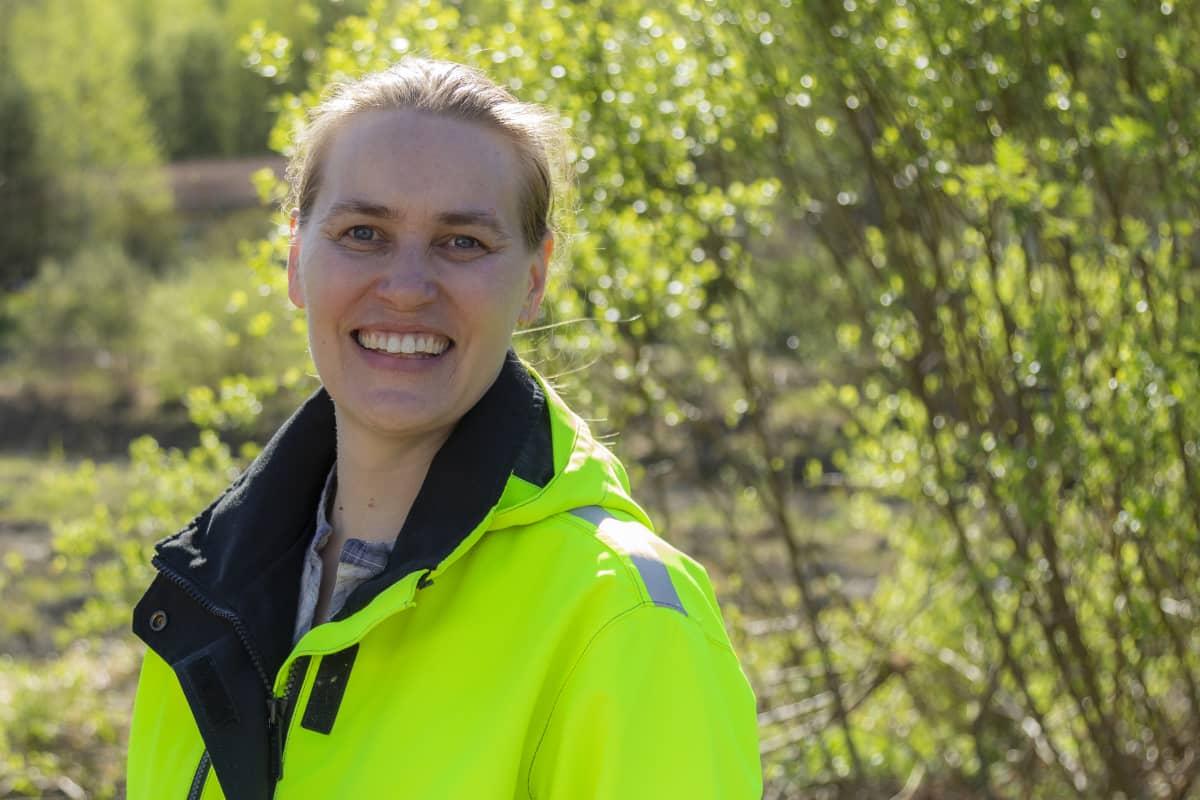 Lempäälän kunnan kunnossapitopäällikkö Tiina Pekkala